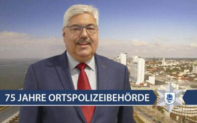 GRUSSWORT DES OBERBÜRGERMEISTERS VON BREMERHAVEN